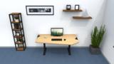 Standard adjustable standing desk_