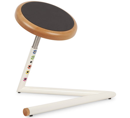 Junior Wood Wobble Stool for children