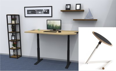 Standard Adjustable working table + Wigli One