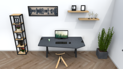 Combideal: Standaard verstelbare werktabel + Wigli One
